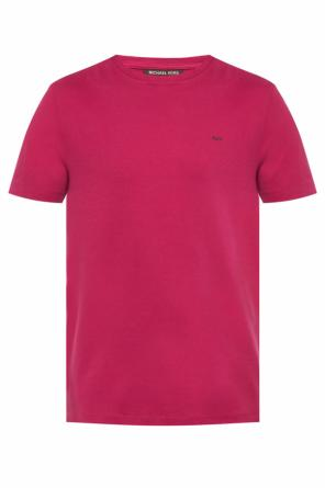 Logo-embroidered t-shirt od Michael Kors